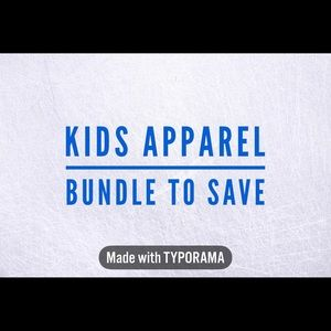 Other - Save 10% on Kids apparel